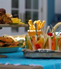 Garden to Glass Event at Jordana Brewster's Mandeville Home | Teryl Designs Landscaping
